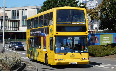 RATP Yellow Buses 412 - Y412CFX - Poole (Kingland Road)