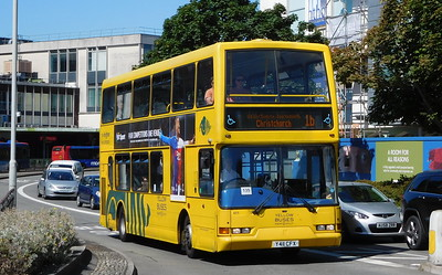 RATP Yellow Buses 411 - Y411CFX - Poole (Kingland Road)