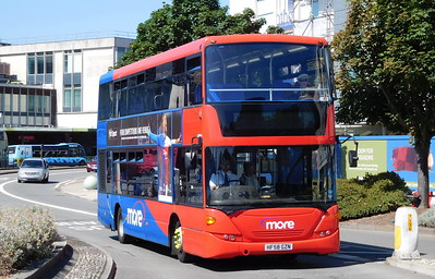 Wilts & Dorset 1198 - HF58GZN - Poole (Kingland Road)