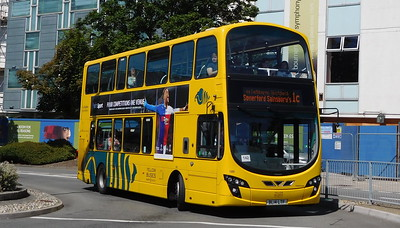 RATP Yellow Buses 189 - BL14LTF - Poole (Kingland Road)