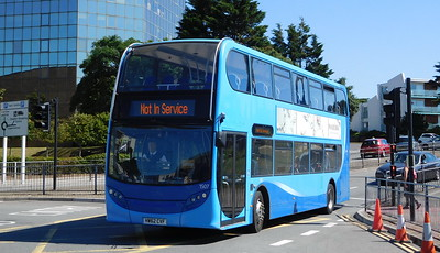 Wilts & Dorset 1507 - HW62CVF - Poole (Kingland Road)