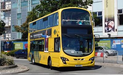 RATP Yellow Buses 123 - HF11HCV - Poole (Kingland Road)