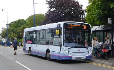 First Cymru 44578 - YX13BNJ - Oystermouth (square)