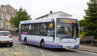 First Cymru 44578 - YX13BNJ - Oystermouth (Newton Road)