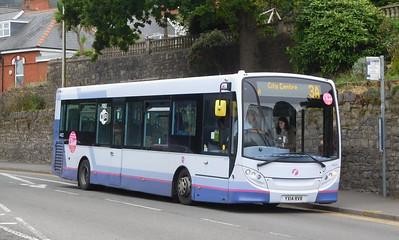 First Cymru 44622 - YX14RVR - Oystermouth (square)
