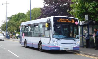 First Cymru 44573 - YX13BNA - Oystermouth (square)