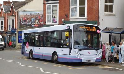First Cymru 44575 - YX13BND - Oystermouth (Newton Road)