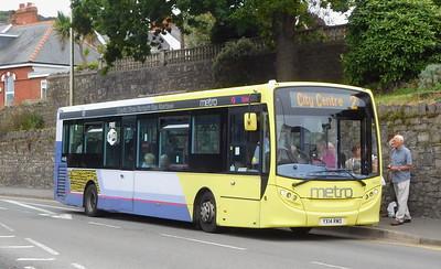 First Cymru 44595 - YX14RWO - Oystermouth (square)