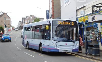 First Cymru 44580 - YX13BNJ - Oystermouth (Newton Road)