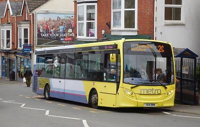 First Cymru 44594 - YX14RWN - Oystermouth (Newton Road)