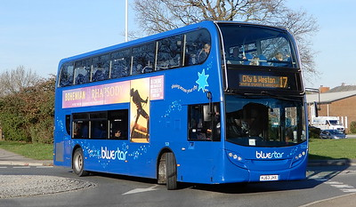 GSC BlueStar 1528 - HJ63JHX - Lordshill (centre)