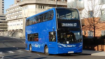 GSC BlueStar 1552 - HJ63JLU - Southampton (Blechynden Terrace)