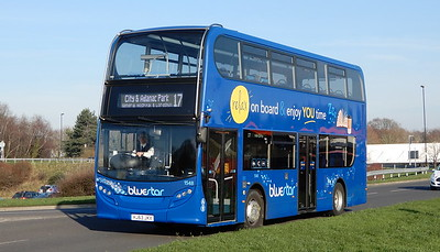 GSC BlueStar 1548 - HJ63JKX - Lordshill (centre)