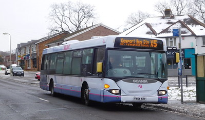 First Solent 65024 - YN54NZY - Sarisbury Green (Barnes Lane)
