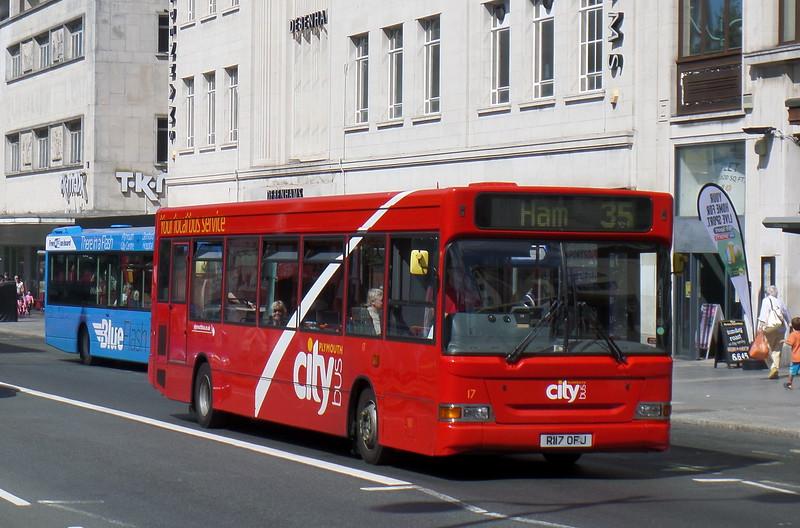 Plymouth Citybus 17 - R117OFJ