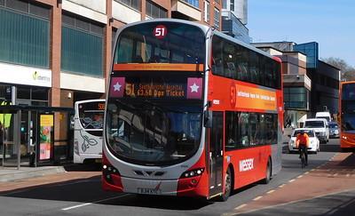 Wessex Connect 40625 - BJ14KTC - Bristol (Broad Weir)