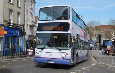 First Bristol 32292 - WR03ZBD - Bristol (College Green)