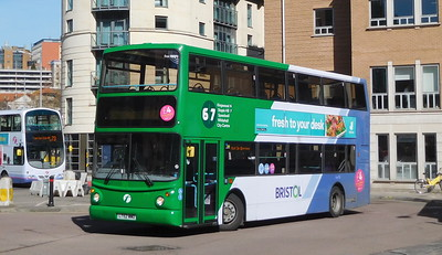 First Bristol 32258 - LT52WWD - Bristol (Broad Quay)