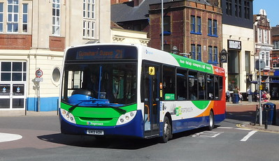 Stagecoach in Portsmouth 27863 - GX13AOH - Portsmouth (Bishop Crispian Way)