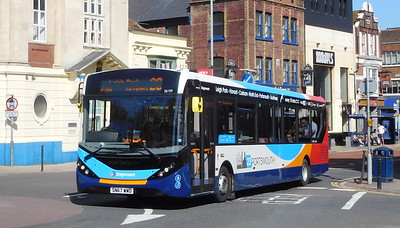 Stagecoach in Portsmouth 26159 - SN67WWD - Portsmouth (Bishop Crispian Way)