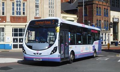 First Solent 47417 - SK63KMA - Portsmouth (Bishop Crispian Way)