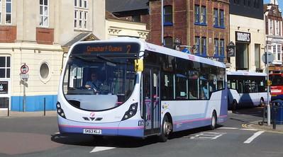 First Solent 47407 - SK63KLJ - Portsmouth (Bishop Crispian Way)