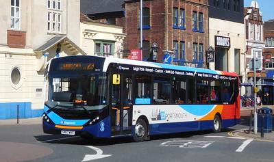 Stagecoach in Portsmouth 26151 - SN67WVV - Portsmouth (Bishop Crispian Way)
