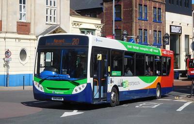 Stagecoach in Portsmouth 27875 - GX13AOV - Portsmouth (Bishop Crispian Way)