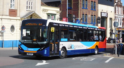Stagecoach in Portsmouth 26149 - SN67WVT - Portsmouth (Bishop Crispian Way)