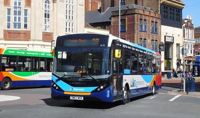 Stagecoach in Portsmouth 26153 - SN65WVX - Portsmouth (Bishop Crispian Way)