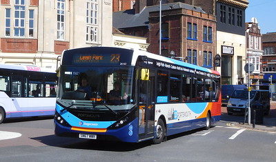Stagecoach in Portsmouth 26163 - SN67WWH - Portsmouth (Bishop Crispian Way)