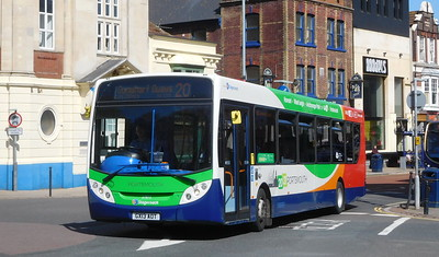 Stagecoach in Portsmouth 27873 - GX13AOT - Portsmouth (Bishop Crispian Way)