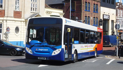 Stagecoach in Portsmouth 27876 - GX13AOW - Portsmouth (Bishop Crispian Way)
