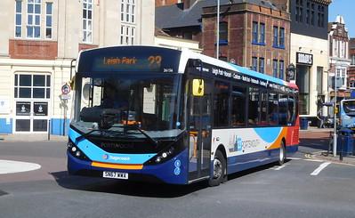 Stagecoach in Portsmouth 26156 - SN67WWA - Portsmouth (Bishop Crispian Way)