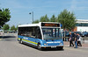 Baker's Dolphin UPV487 - Bridgwater bus station - 31.5.13