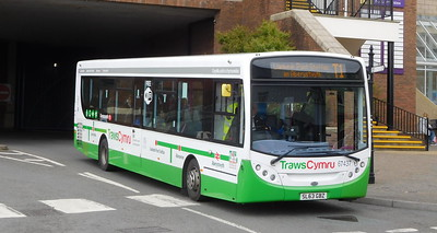 First Cymru 67437 - SL63GBZ - Carmarthen (bus station)