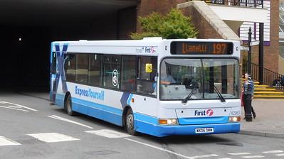 First Cymru 42963 - WX06OMW - Carmarthen (bus station)