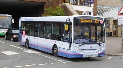 First Cymru 44613 - YX14RVE - Carmarthen (bus station)