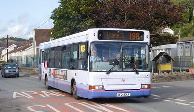 First Cymru 42879 - SF05KXA - Ferryside