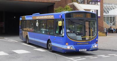 First Cymru 69241 - MX56AFY - Carmarthen (bus station)