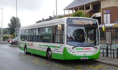 First Cymru 67436 - SL63GBY - Carmarthen (bus station)