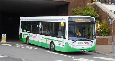 First Cymru 67439 - SL63GCK - Carmarthen (bus station)