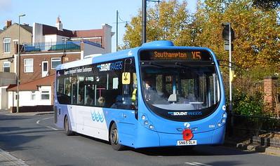 First Solent 63304 - SN65OLH - Fareham (Hartlands Road)