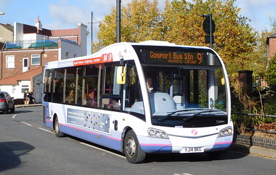 First Solent 53605 - YJ14BKG - Fareham (Hartlands Road)