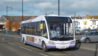 First Wessex 53610 - YJ14BVA - Weymouth (Commercial Road)