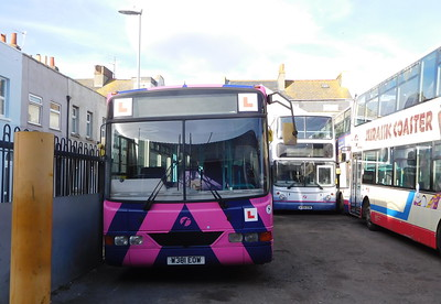 First Wessex 66181 - W381EOW - Weymouth (depot)