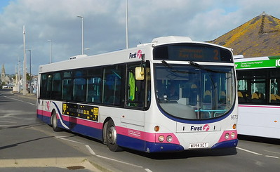 First Wessex 66732 - WX54XCT - Weymouth (King's Statue)