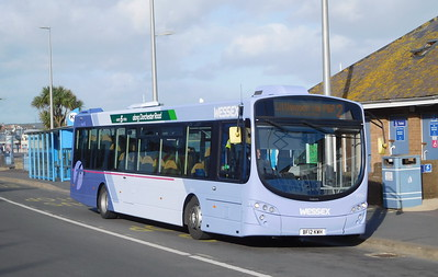 First Wessex 69547 - BF12KWH - Weymouth (King's Statue)