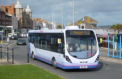 First Wessex 63181 - SN14DWZ - Weymouth (King's Statue)