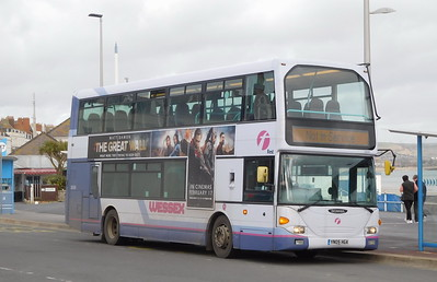 First Wessex 36006 - YN05HGA - Weymouth (King's Statue)
